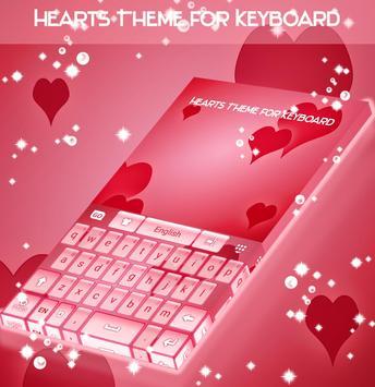 Hearts Theme for Keyboard screenshot 3