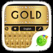 Gold Luxury Go Keyboard Theme icon