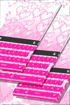 Glossy Pink Heart Keyboard screenshot 4