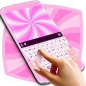 Glossy Pink Keyboard Theme icon