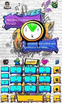 Graffiti GO Keyboard Theme apk screenshot