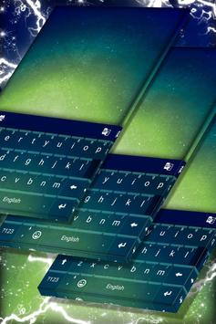 Green Gradient Keyboard Theme screenshot 4