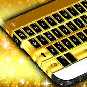 Latest Gold Keyboard Theme icon