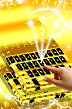 Latest Gold Keyboard Theme apk screenshot