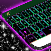 Electric Color Keyboard Theme icon
