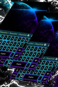 Galaxy Neon Theme poster