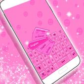 Cool Keyboard Theme with Emoji icon