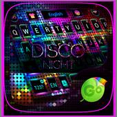 Disco Night GO Keyboard Theme icon