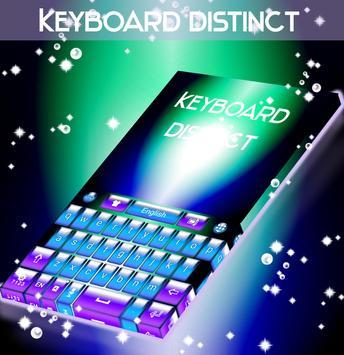 Distinct Keyboard poster