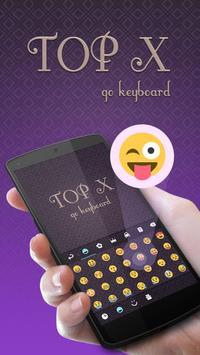 Top X Go Keyboard Theme apk screenshot