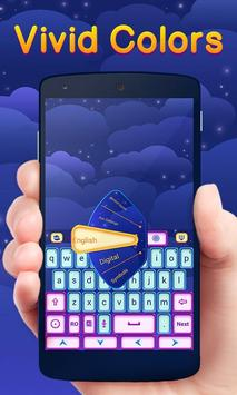 Vivid Colors Go Keyboard Theme apk screenshot