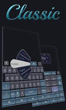 Classic Grey GO Keyboard Theme poster