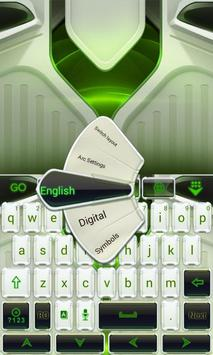 Clean Neon Go Keyboard Theme poster