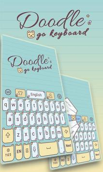 Doodle GO Keyboard Theme poster