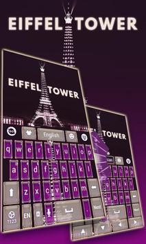 Eiffel Tower GO Keyboard Theme poster