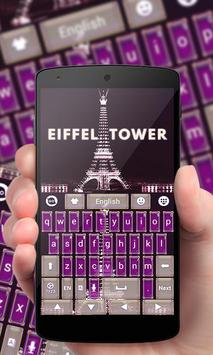 Eiffel Tower GO Keyboard Theme apk screenshot