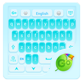 Elegant Blue GO Keyboard Theme icon