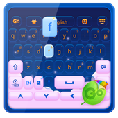 Pink Cloud GO Keyboard Theme icon