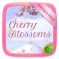 Cherry Blossoms GO Keyboard Animated Theme