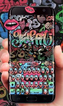 Graffiti Go Keyboard Theme poster