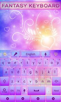 Fantasy GO Keyboard Theme apk screenshot