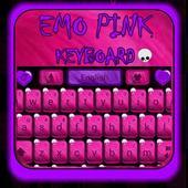 Emo Pink Go Keyboard icon