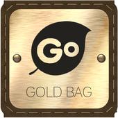 Gold Bag Go Keyboard icon