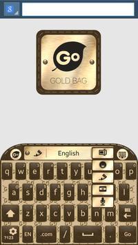 Gold Bag Go Keyboard screenshot 3