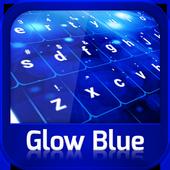 Keyboard Glow Blue icon