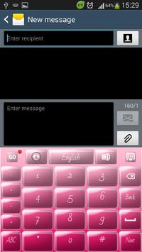 Candy Pink Keyboard screenshot 4