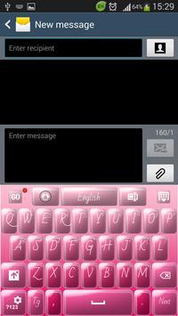 Candy Pink Keyboard apk screenshot