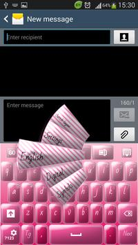 Candy Pink Keyboard poster