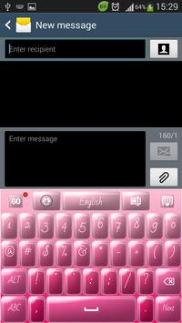 Candy Pink Keyboard screenshot 2