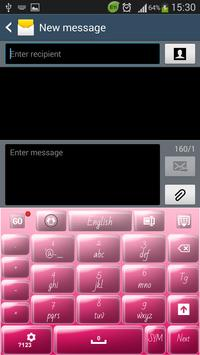 Candy Pink Keyboard screenshot 3