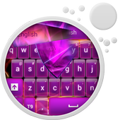 Glow Purple Keyboard icon