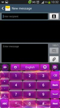 Glow Purple Keyboard screenshot 4