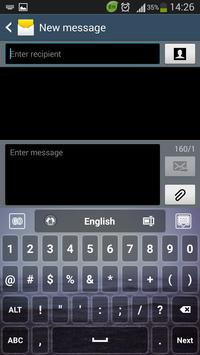 Dark Sea Keyboard apk screenshot
