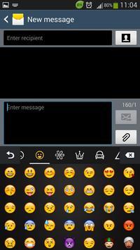 Smartphone Keyboard screenshot 1