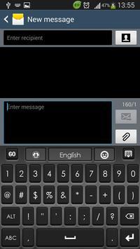 Smartphone Keyboard screenshot 2