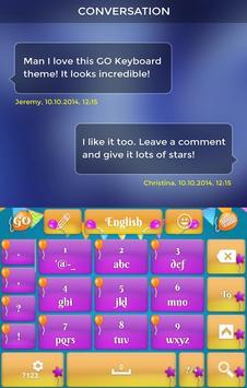 New Year Keyboard apk screenshot