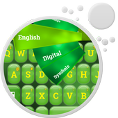 Green Color Keyboard icon