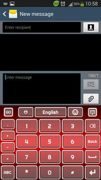 Red Keyboard screenshot 4