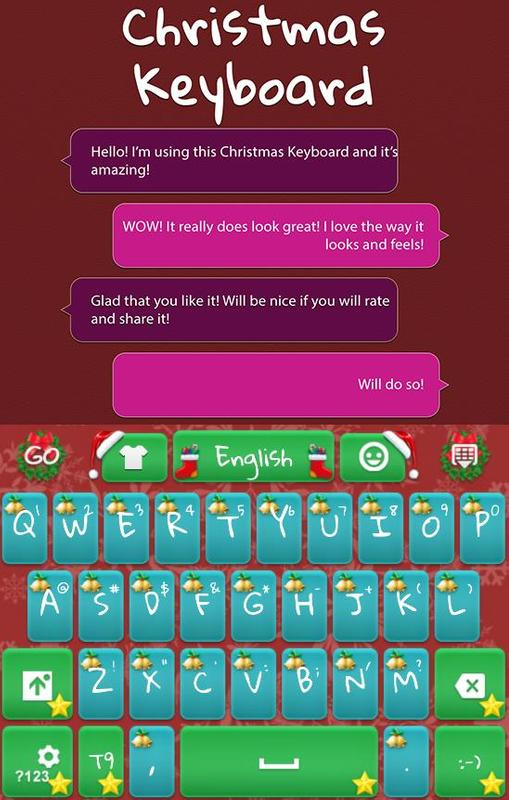 Go Keyboard Merry Christmas Apk Download Free Personalization App