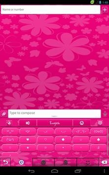 GO Keyboard Pink Madness apk screenshot