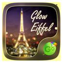 Glow Eiffel GO Keyboard Theme APK