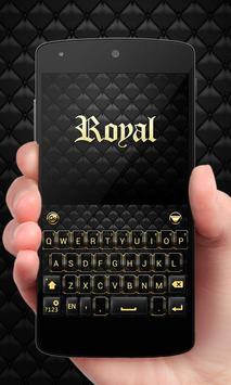 Royal GO Keyboard Theme Emoji poster