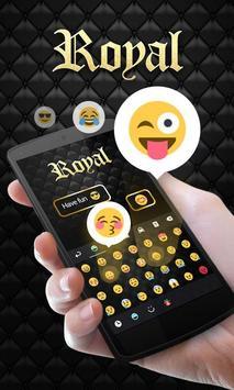 Royal GO Keyboard Theme Emoji apk screenshot