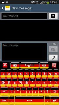 لوحة المفاتيح الألمانية apk تصوير الشاشة
