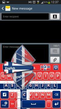 Norwegian Keyboard poster
