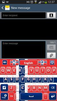 Norwegian Keyboard screenshot 1